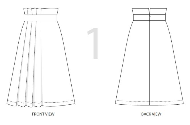 Adriana-Skirt