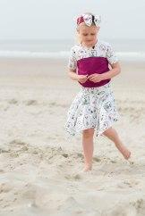 Hanne Jersey skirt & discoverer tee-0228