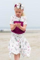 Hanne Jersey skirt & discoverer tee-0251
