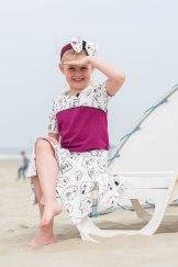 Hanne Jersey skirt & discoverer tee-0263
