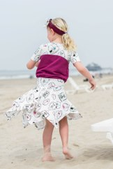 Hanne Jersey skirt & discoverer tee-0267
