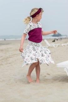 Hanne Jersey skirt & discoverer tee-0269